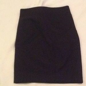 Theory Black pencil skirt size 2